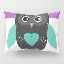 Little owl . Pillow Sham