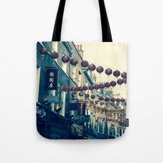London Chinatown Tote Bag