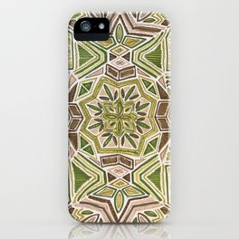 Earth Tapestry iPhone Case