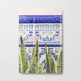 Moroccan Botany #society6 #decor #buyart Metal Print