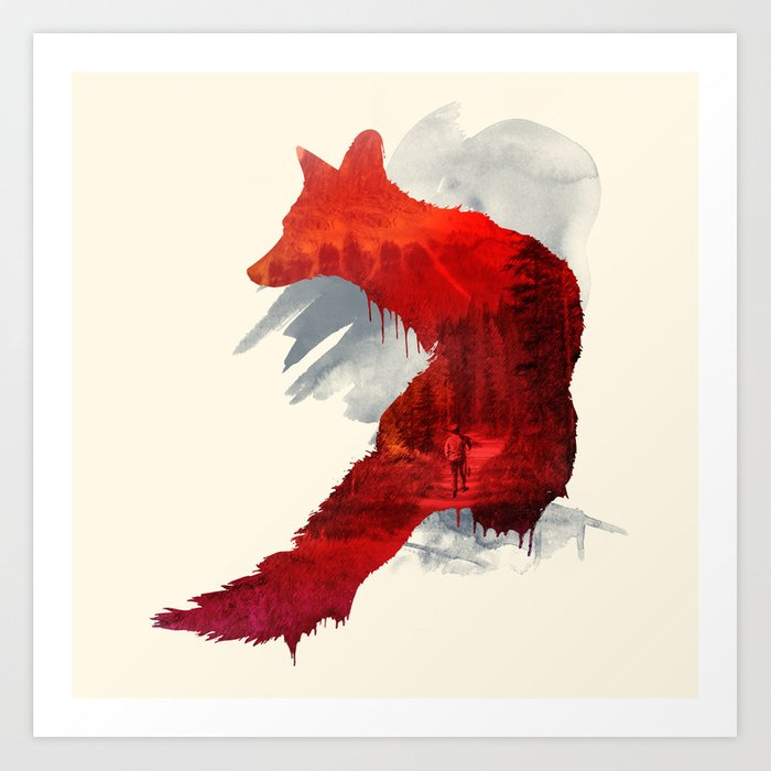 Discover the motif BAD MEMORIES by Robert Farkas  as a print at TOPPOSTER