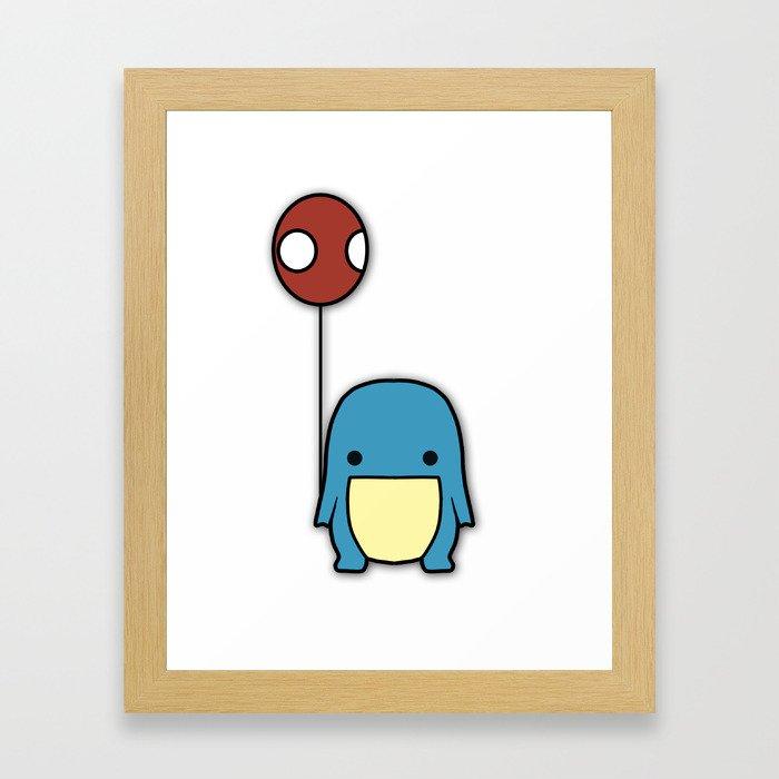 Balloon Quaggan Case Framed Art Print