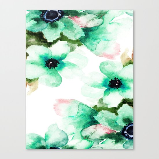 Flowers 07 Canvas Print