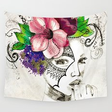 Curiouser & Curiouser Wall Tapestry