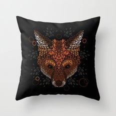 Fox Face Throw Pillow