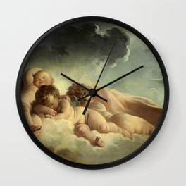"Jean-Honoré Fragonard ""La Nuit (Night)"" Wall Clock"
