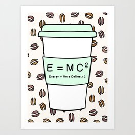 Important science Art Print