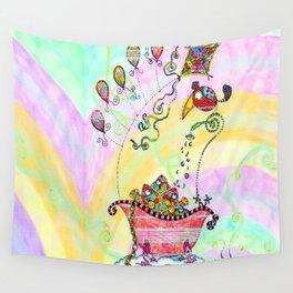 Fish Tub II Wall Tapestry