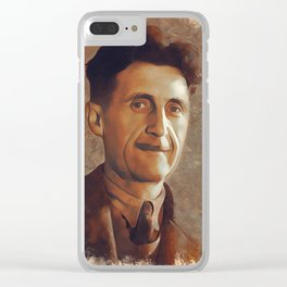 George Orwell, Author Clear iPhone Case
