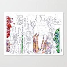 spiritual parps Canvas Print