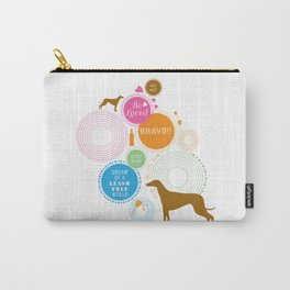 Dream of a leash free world Carry-All Pouch