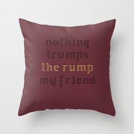 Space Dandy Throw Pillow