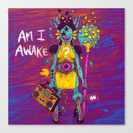 AMI AWAKE Canvas Print