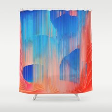 Hot n' Cold Shower Curtain