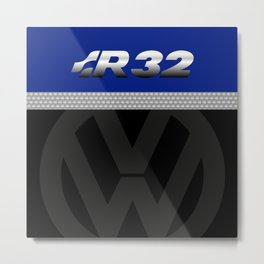 R32 Golf Metal Print