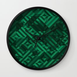Atacamite Wall Clock