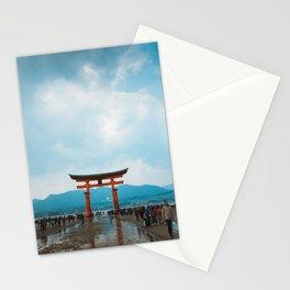 Adventure in Miyajima's Floating Torii, Japan Stationery Cards