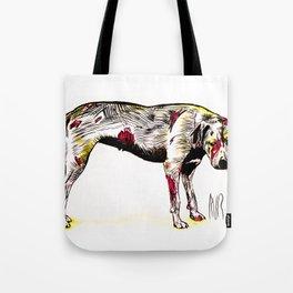 The sadness of streetdogs Tote Bag