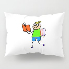 Nerdy Boy Pillow Sham