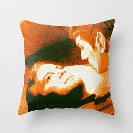 Burning Desire Throw Pillow