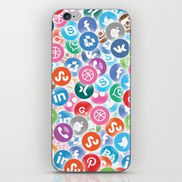 Social networks iPhone Skin