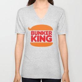 Bunker King Unisex V-Neck