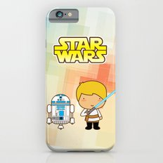 Luke Skywalker and R2D2 iPhone 6s Slim Case