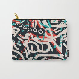Street Art Pattern Graffiti Post Carry-All Pouch