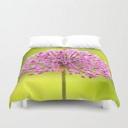 Pink Flower Like A Ball Duvet Cover