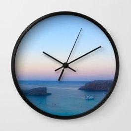 Dusk in Menorca Wall Clock