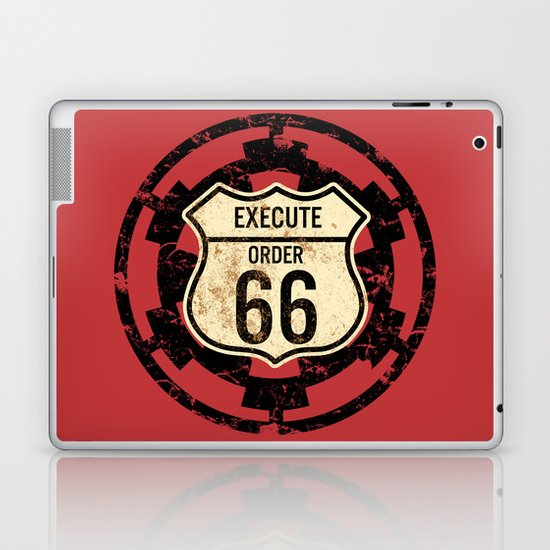 Execute Order 66 Laptop & iPad Skin