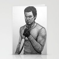 dexter Stationery Cards featuring Dexter by Jack Kershaw