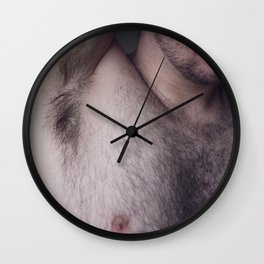 Pits Wall Clock