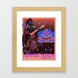 Mummers Museum Framed Art Print
