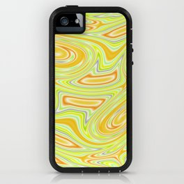 Mellow Yellow Abstract iPhone Case