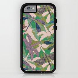 Dancing Dragonflies iPhone Case