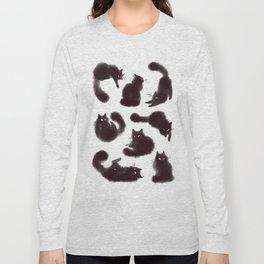 Bunch of cats Long Sleeve T-shirt