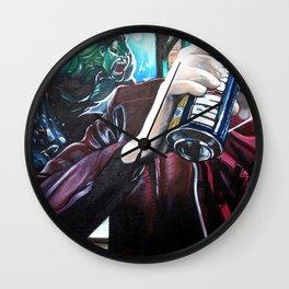 IRN-MAN Wall Clock
