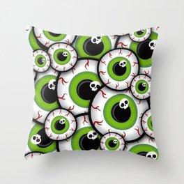 Eyeballs Throw Pillow