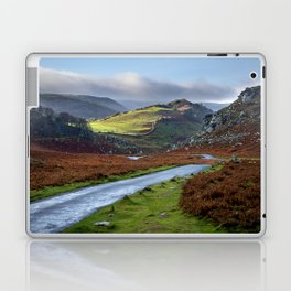 Valley of Rocks. Laptop & iPad Skin