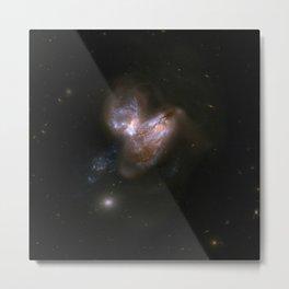 Hubble Space Telescope - Interacting Galaxies NGC 3690 (2008) Metal Print