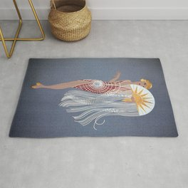 "1920's Art Deco Design ""The Flapper"" Rug"