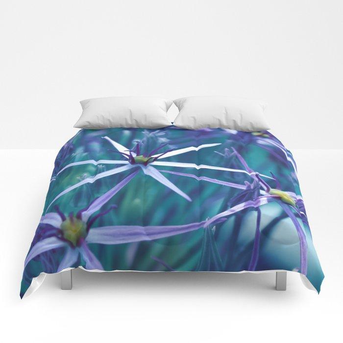 Allium Blue Comforters