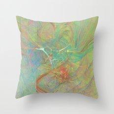 Electrifying Throw Pillow