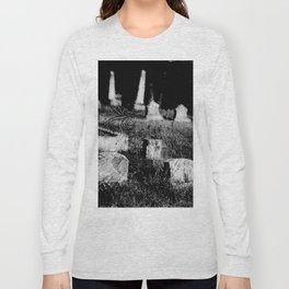 4x5 black and white film photogaph. limited edits. no flters. Long Sleeve T-shirt