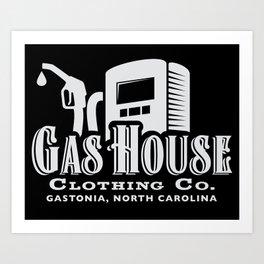 Gas House Pump Logo #2 Art Print
