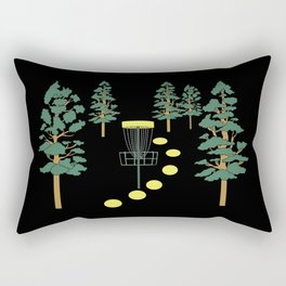 Disc Golf Stupid Trees Woods Men Women Court Gift Rectangular Pillow