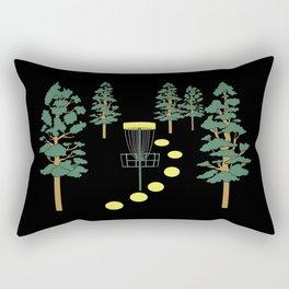 Disc Golf Stupid Trees Woods Men Women Court Gift Rectangular Pillow