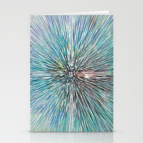 Digital Art Abstract Stationery Cards