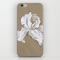 iris iPhone & iPod Skins featuring Iris  by Mich Li